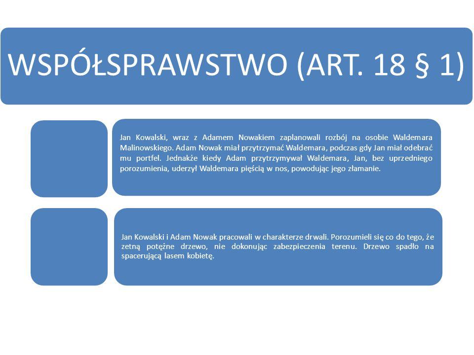 SPRAWSTWO KIEROWNICZE I POLECAJĄCE (ART.