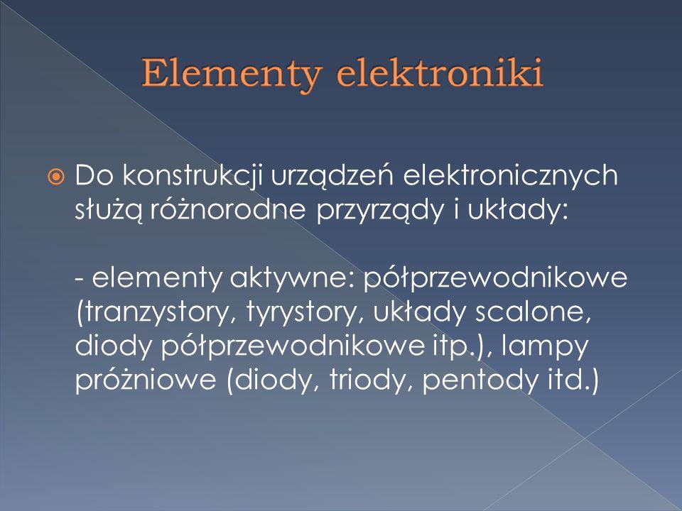 układy elektroniczne cyfrowe (tzw.