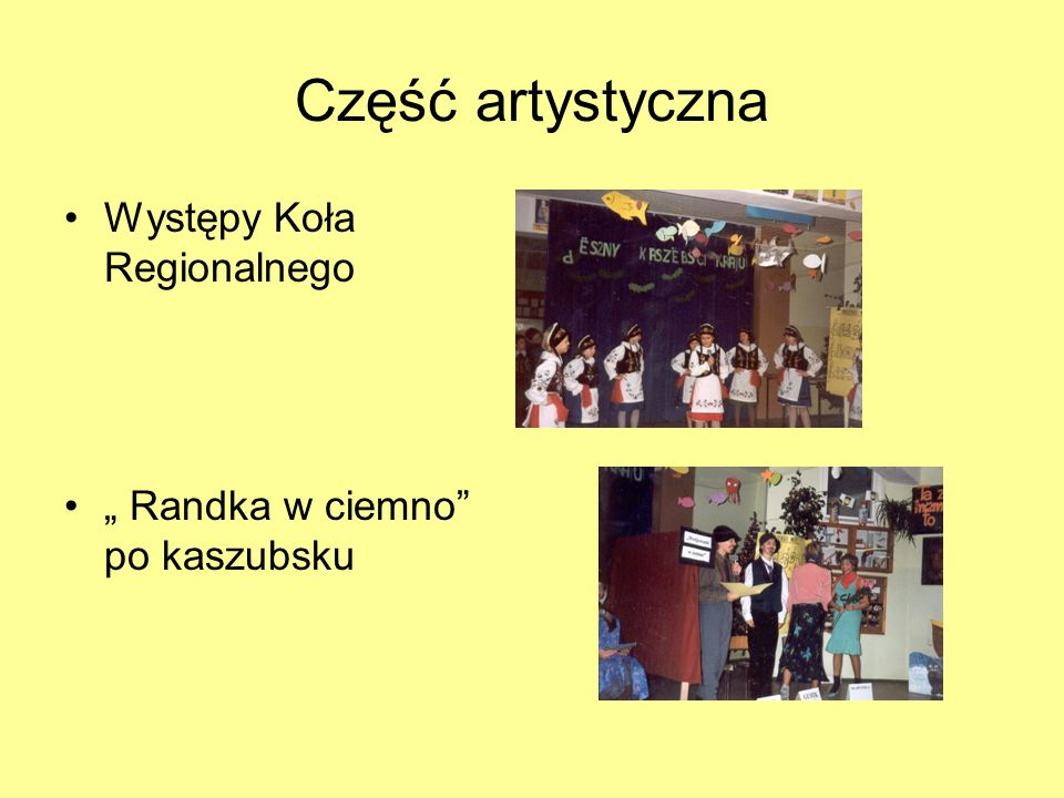 Zdjęcia z uroczystości Przemowa wójta gminy Puck– T. Puszkarczuka, obok burmistrz miasta Redy – S. Wicki Wspólne zdjęcie gości z panią dyrektor E. Ube