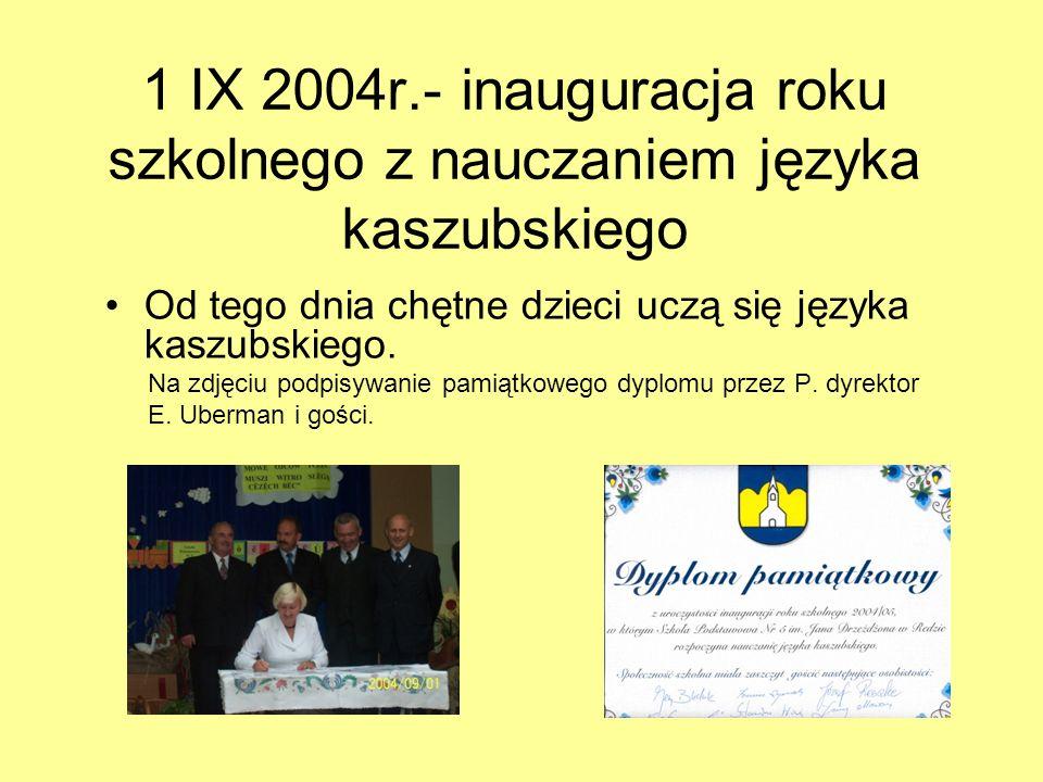 Zdjęcia z uroczystości nadania imienia Sztandar szkoły ufundowany przez Radę Rodziców Odczytanie Uchwały Rady Miasta w sprawie nadania imienia SP nr 5