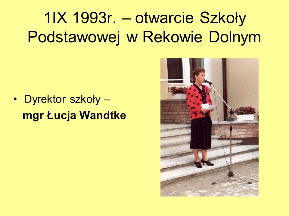 II 1993r. VIII 1993r.