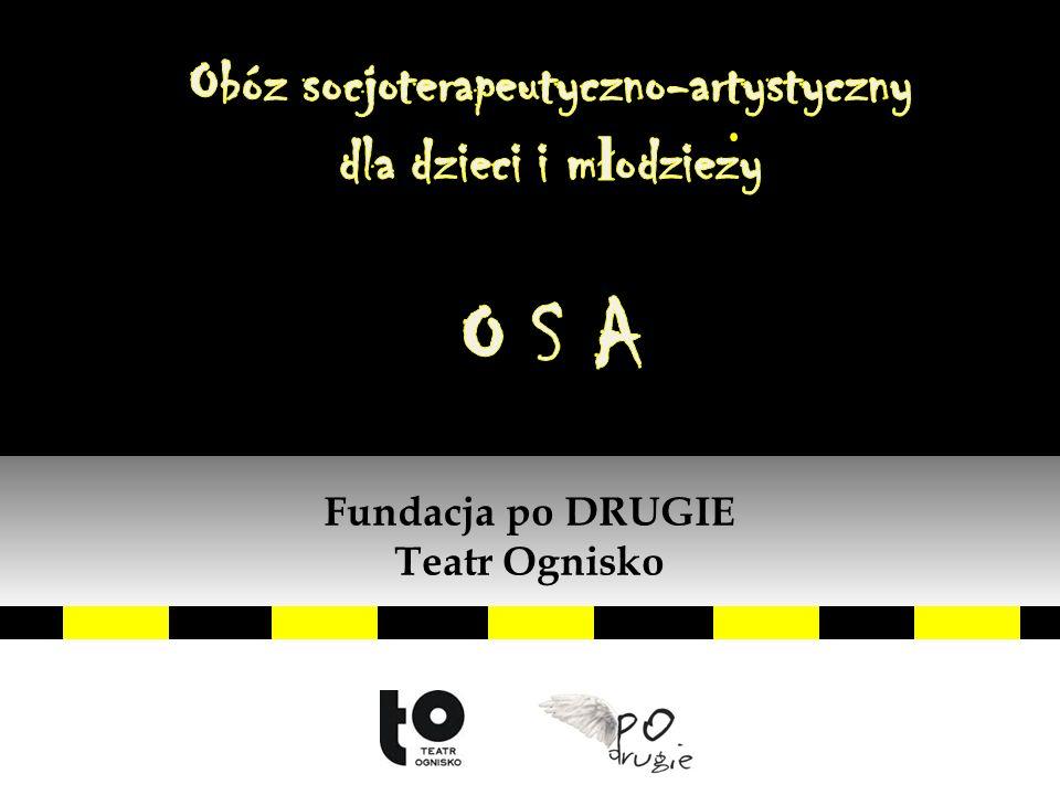 """OSA Agnieszka Sikora pedagog resocjalizacyjny, instruktorka teatralna, dziennikarka, prezeska """"Fundacji po DRUGIE"""