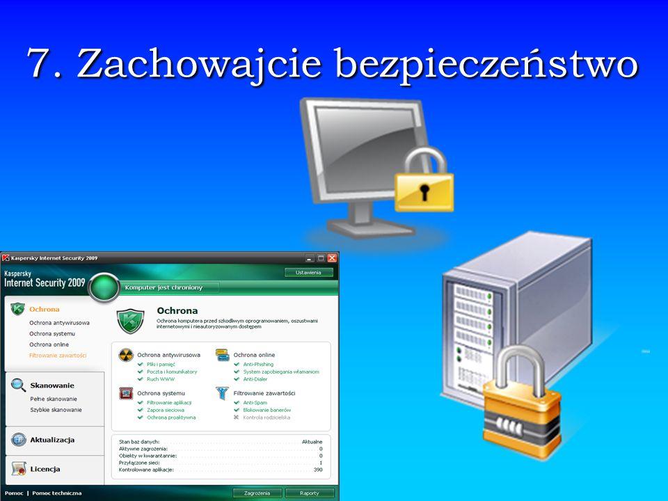8.Zachowajcie prywatność.