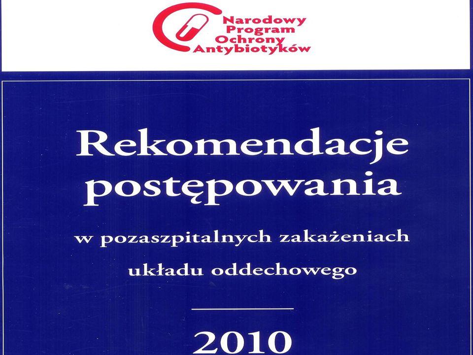 Rekomendacje 2009 Ampicylina iv.