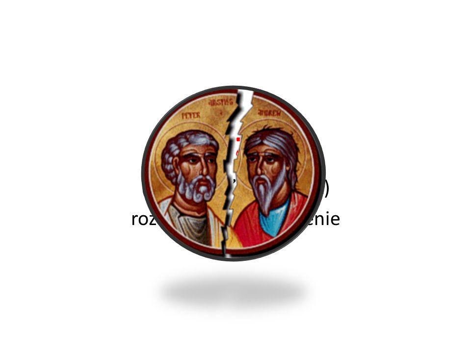 Schizma (od gr. σχίζω, σχίσμα) rozdarcie, rozszczepienie