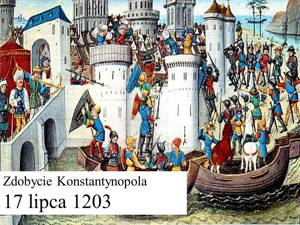 Zdobycie Konstantynopola 17 lipca 1203