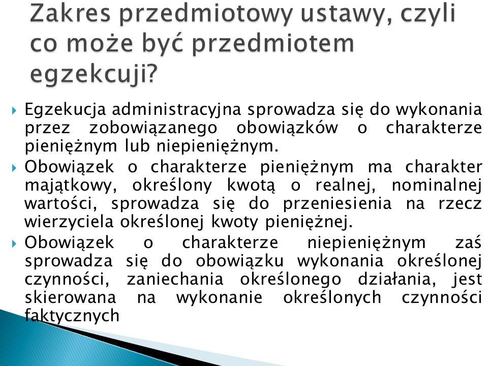  podatków i należności celnych pobieranych przez Rzeczpospolitą Polską, państwo członkowskie lub w ich imieniu, przez ich jednostki podziału terytorialnego lub administracyjnego, w tym organy lokalne, lub w imieniu tych jednostek lub organów, a także w imieniu Unii Europejskiej  opłat i innych należności pieniężnych przewidzianych w ramach wspólnej organizacji rynku Unii Europejskiej dla sektora cukru;  kar, grzywien, opłat i dopłat administracyjnych związanych z należnościami pieniężnymi, o których mowa w pkt 1–3, nałożonych przez organy właściwe do pobierania podatków i należności celnych lub właściwe do prowadzenia postępowań administracyjnych dotyczących podatków i należności celnych lub potwierdzonych przez organy administracyjne lub sądowe na wniosek organów właściwych w sprawie podatków i należności celnych ;  refundacji, interwencji i innych środków stanowiących część całkowitego lub częściowego systemu finansowania Europejskiego Funduszu Rolniczego Gwarancji (EFRG) oraz Europejskiego Funduszu Rolniczego Rozwoju Obszarów Wiejskich (EFRROW), w tym kwot należnych w związku z tymi działaniami