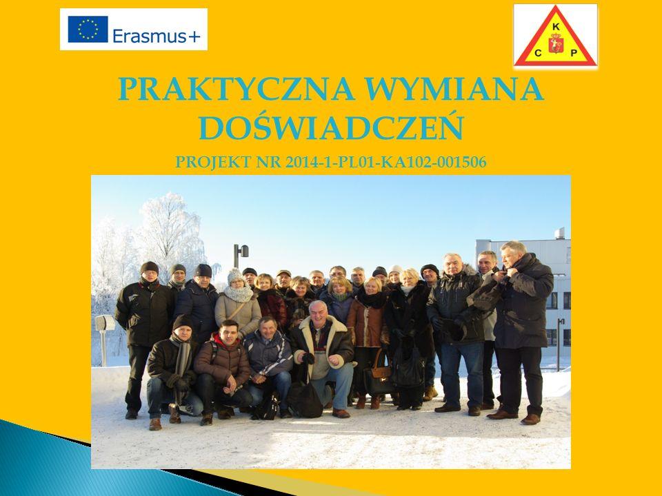 PRAKTYCZNA WYMIANA DOŚWIADCZEŃ PROJEKT NR 2014-1-PL01-KA102-001506