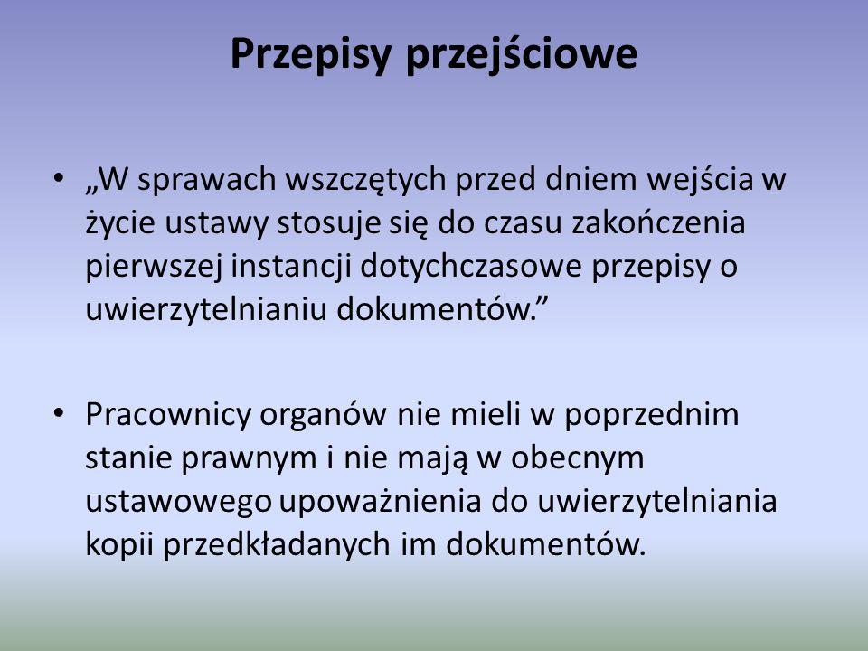 NOWOŚĆ Art.76a K.P.A.