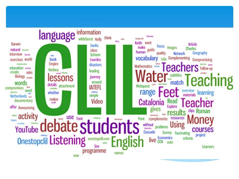 Zintegrowane nauczanie języka i przedmiotu (CLIL) (Content and Language Integrated Learning) – zintegrowane nauczanie języka obcego i przedmiotów ogólnokształcących i / lub zawodowych – to nowoczesna metoda nauczania, integrująca treści zawarte w podstawie programowej języków obcych, przedmiotów ogólnokształcących oraz zawodowych.