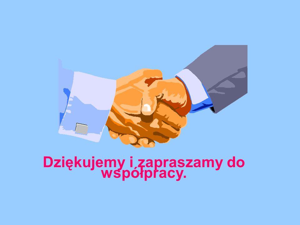 Dziękujemy i zapraszamy do współpracy.