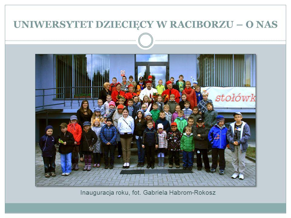 UNIWERSYTET DZIECIĘCY W RACIBORZU – O NAS Inauguracja roku, fot. Gabriela Habrom-Rokosz