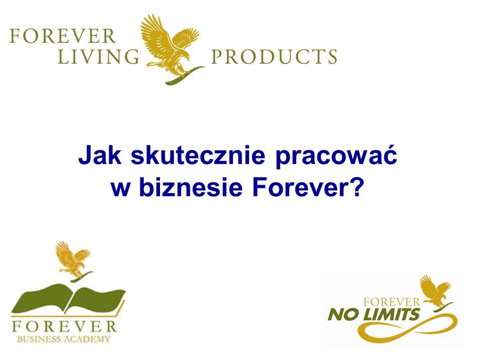 Jak skutecznie pracować w biznesie Forever?