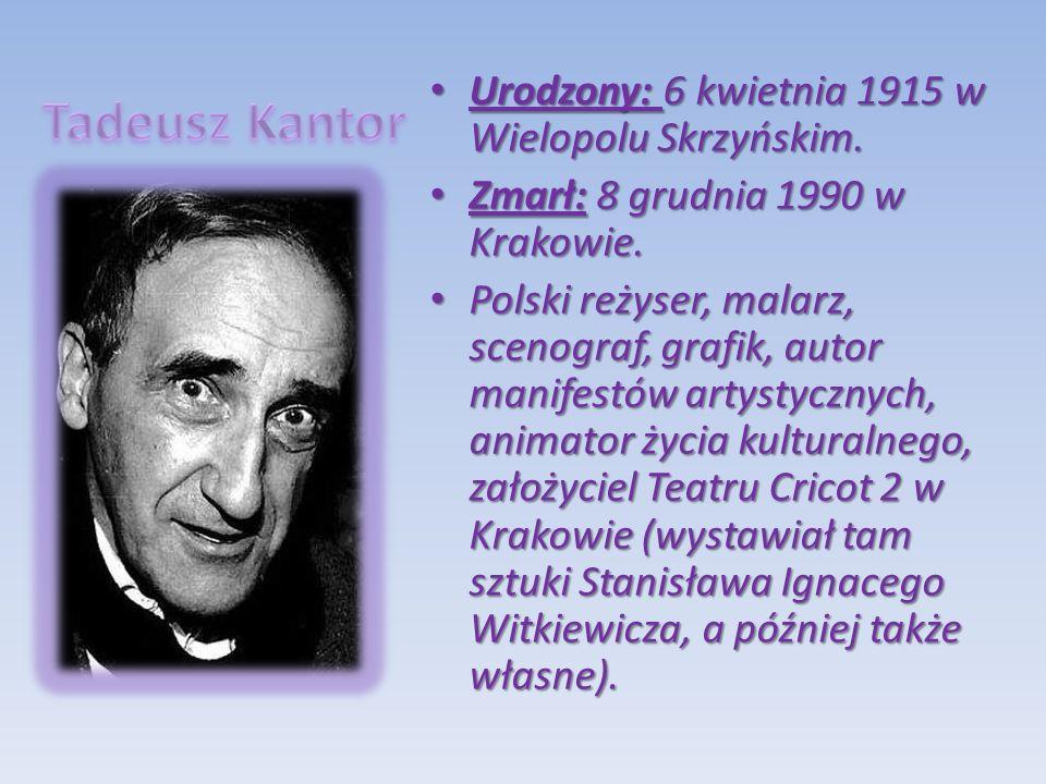 Urodzony: 6 kwietnia 1915 w Wielopolu Skrzyńskim. Urodzony: 6 kwietnia 1915 w Wielopolu Skrzyńskim. Zmarł: 8 grudnia 1990 w Krakowie. Zmarł: 8 grudnia