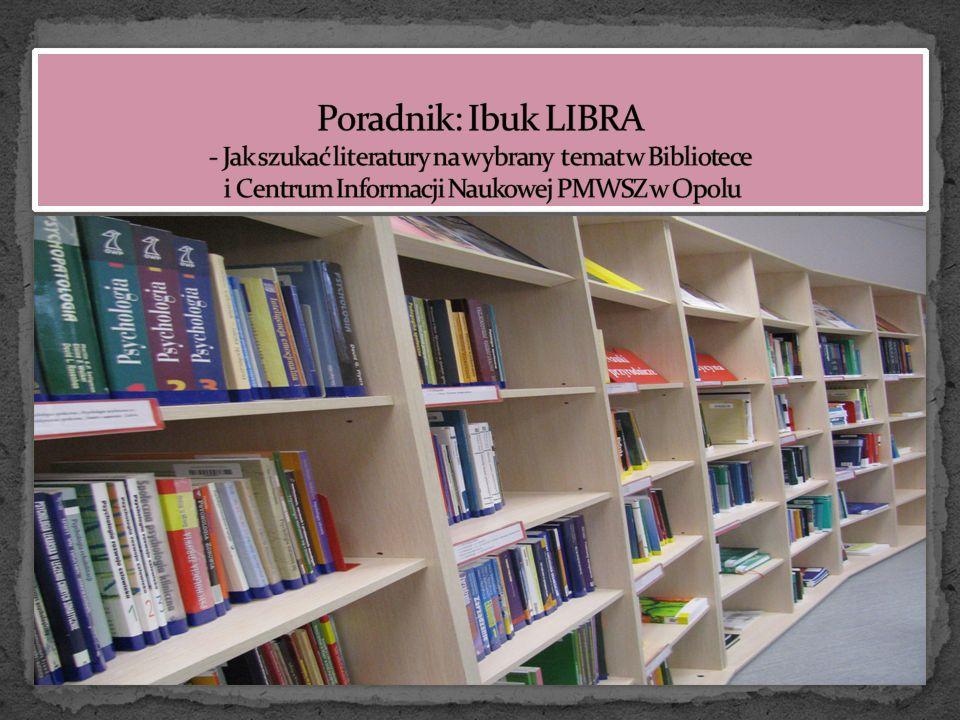 Biblioteka oferuje dostęp do posiadanych przez nią baz z komputerów domowych lub innych spoza Uczelni dla wszystkich uprawnionych czytelników zarejestrowanych w Bibliotece I CIN PMWSZ w Opolu przez Bazy danych A-Z.