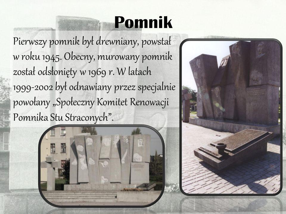 Zgierska tragedia Zastrzelenie stu Polaków było największą, publiczną egzekucją na terenie naszego kraju.