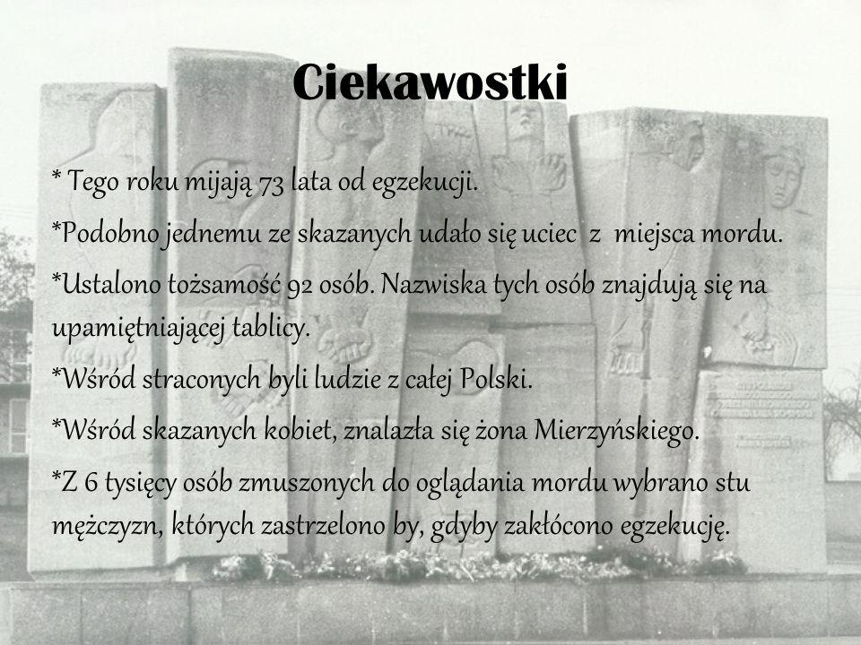 Zbiorowa Mogi ł a w Lesie Lu ć mierskim Miejsce upamiętnienia rozstrzelania stu Polaków znajduje się na skraju Zgierza, w Lesie Lućmierskim.