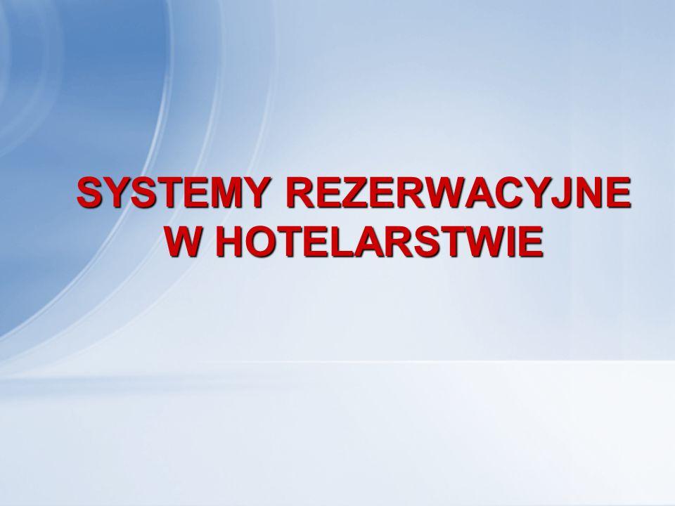 Coraz więcej obiektów noclegowych, w tym przede wszystkim hoteli, korzysta nie tylko z tradycyjnej telefonicznej sprzedaży miejsc, jakim jest najczęściej rezerwacja telefoniczna, ale także z rezerwacji za pomocą Internetu.