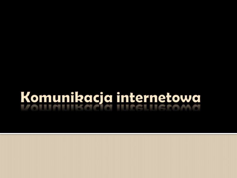  Telekomunikacja – dziedzina techniki i nauki, zajmująca się transmisją wszelkiego rodzaju informacji na odległość.
