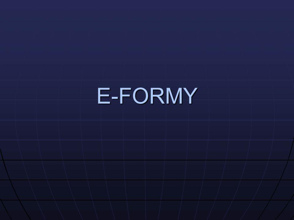 E-FORMY