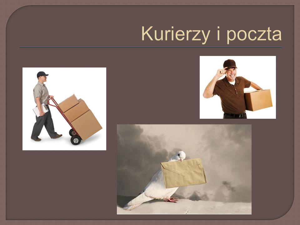 Kurierzy i poczta