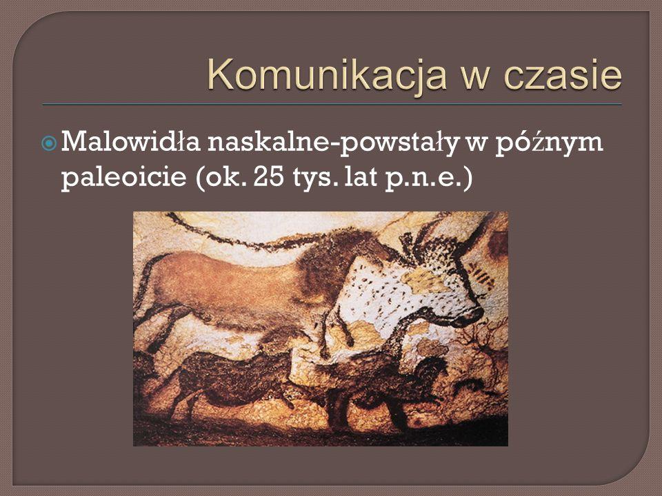  Pertoglify- pojawiaj ą si ę w okresie neolitu(10-9 tys. lat p.n.e)