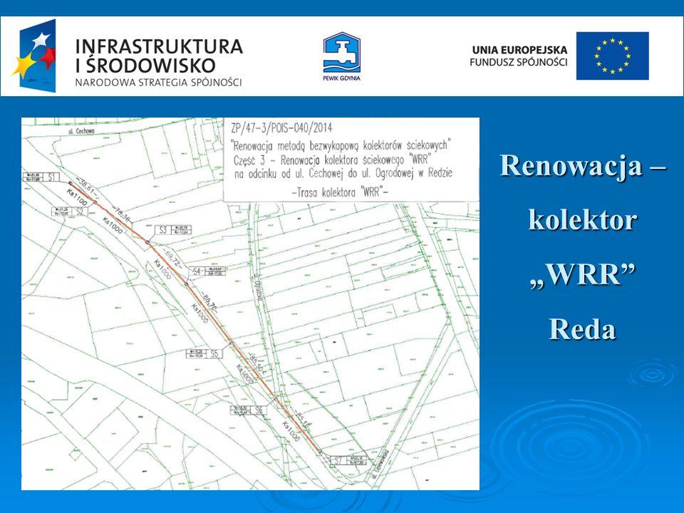 """Renowacja – kolektor """"WRR Reda"""