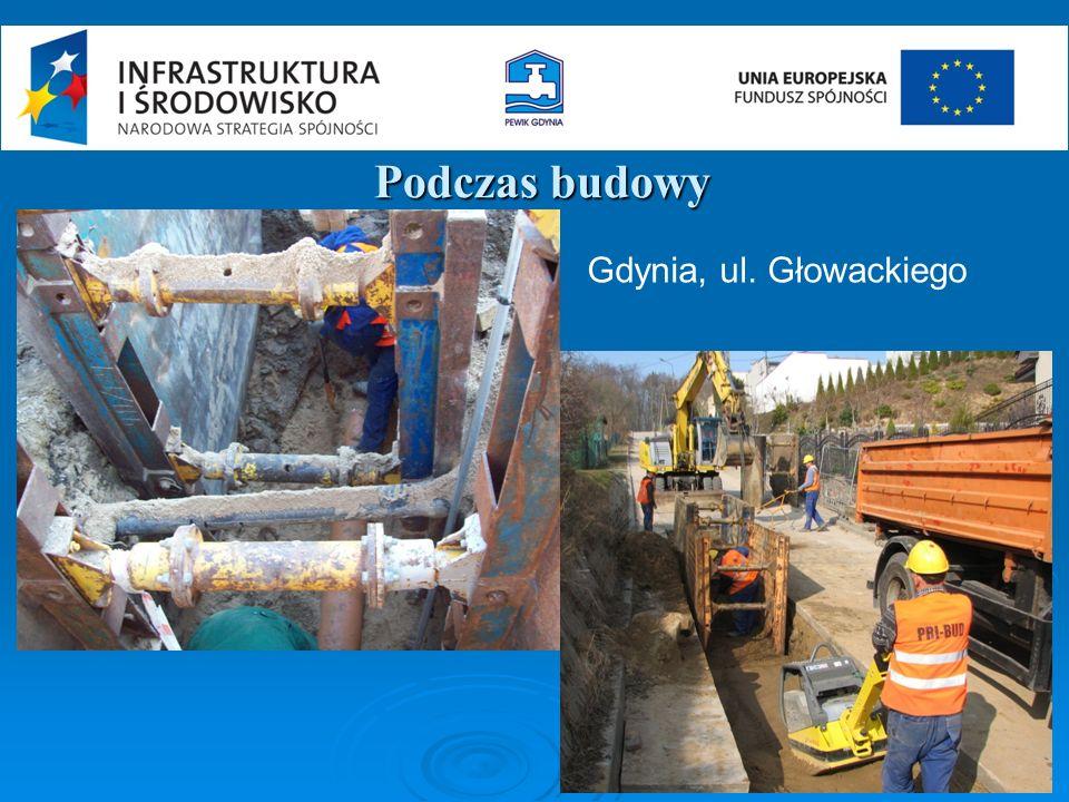 Podczas budowy Gdynia, ul. Głowackiego