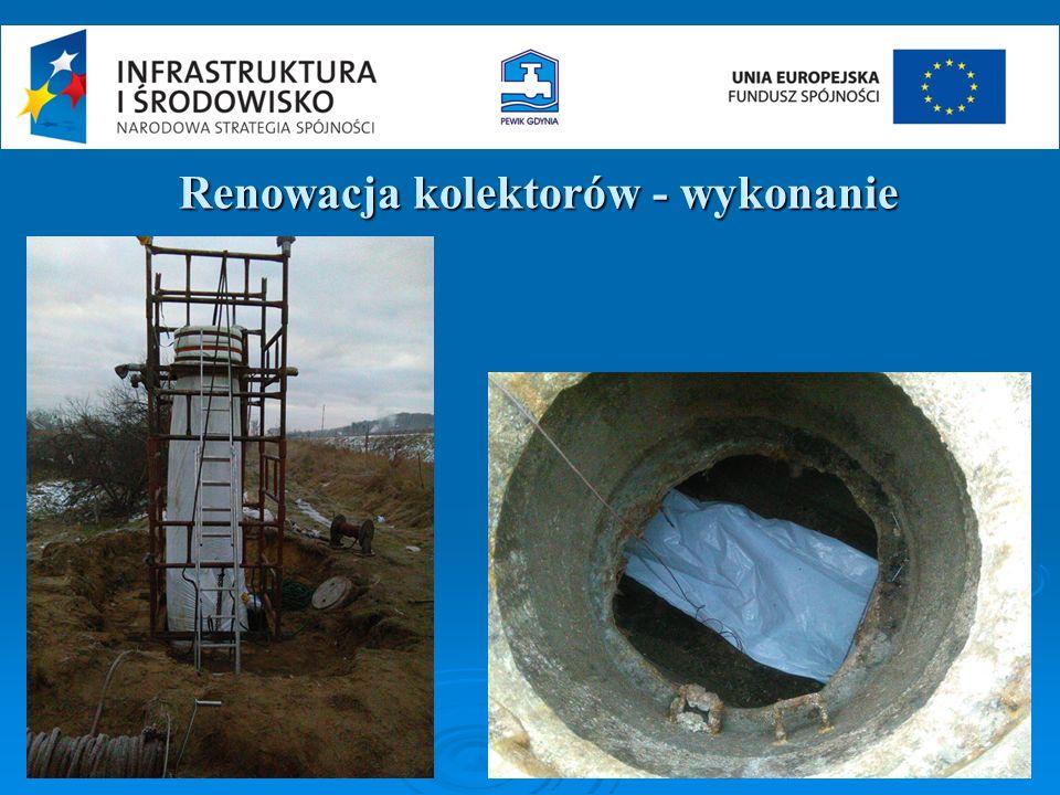 Renowacja kolektorów - wykonanie