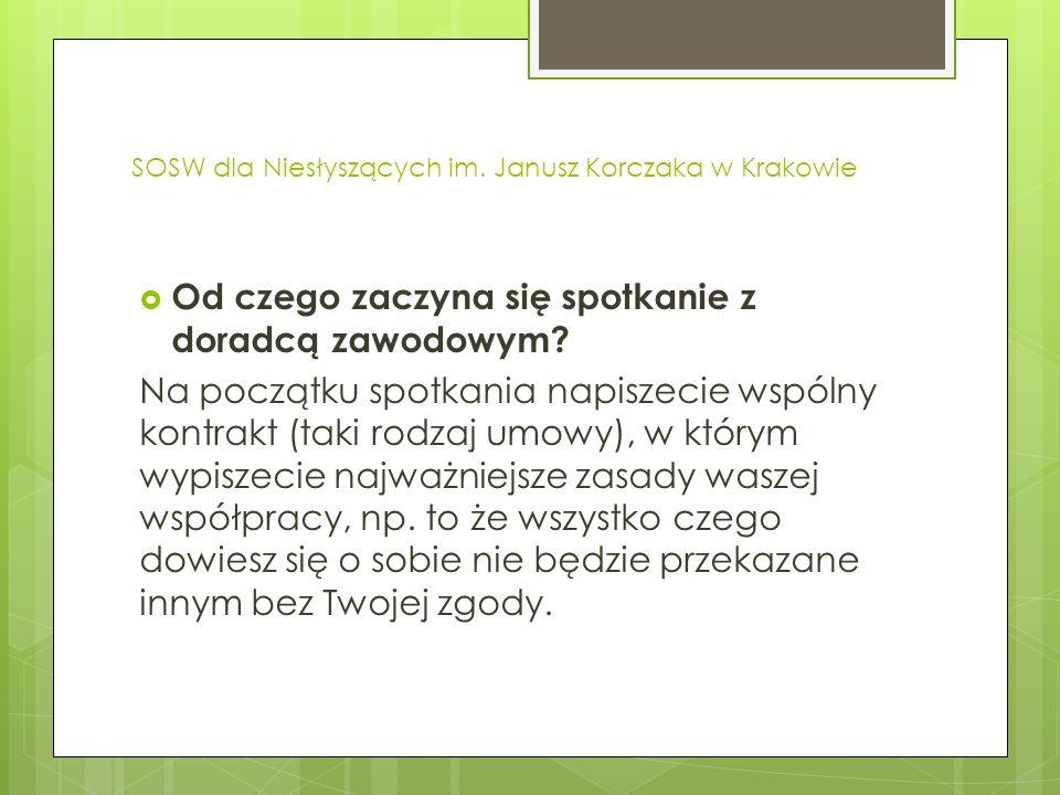 SOSW dla Niesłyszących im.