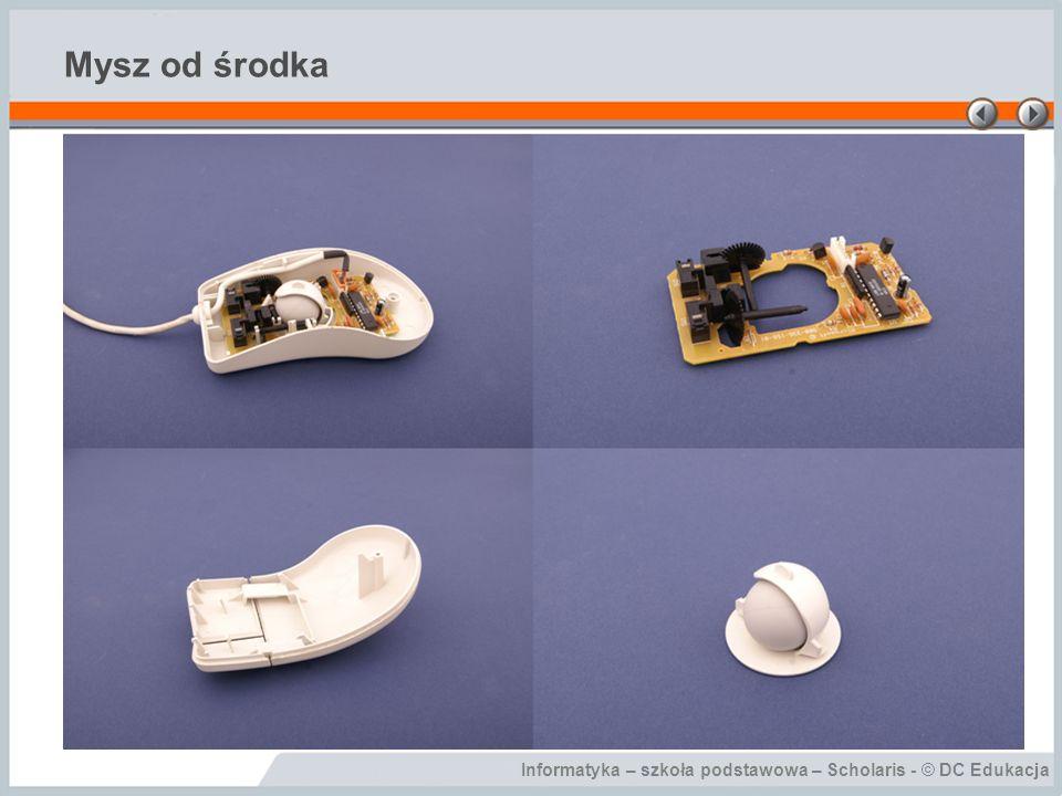 Informatyka – szkoła podstawowa – Scholaris - © DC Edukacja Mysz od środka