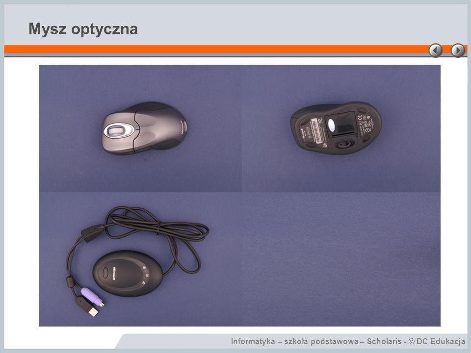 Informatyka – szkoła podstawowa – Scholaris - © DC Edukacja Mysz optyczna