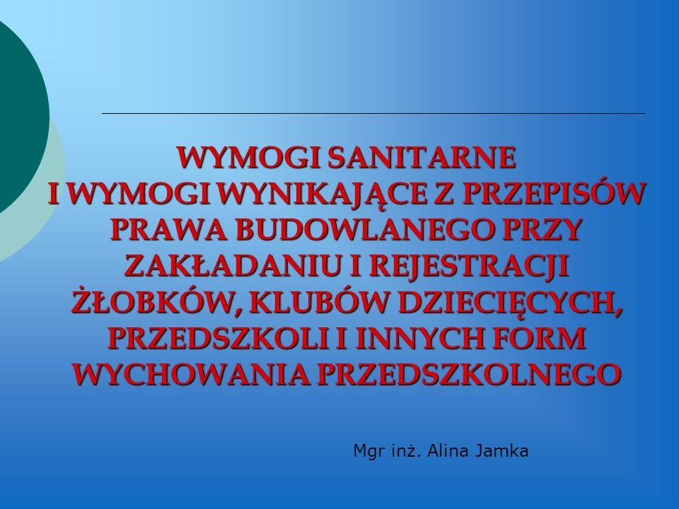 Mgr inż. Alina Jamka