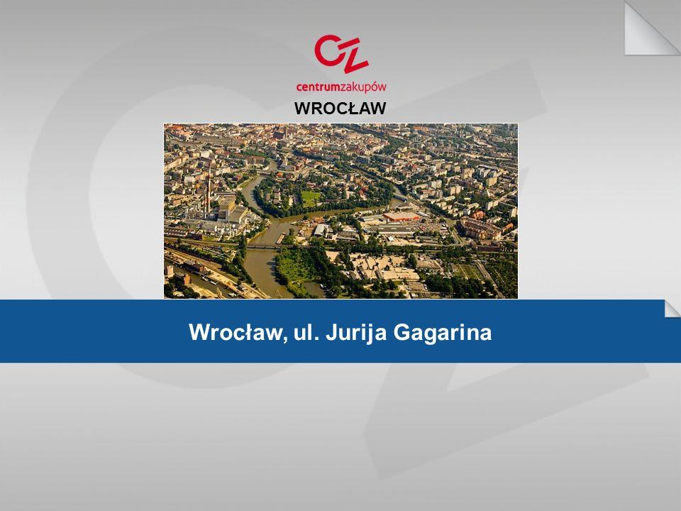 Wrocław, ul. Jurija Gagarina WROCŁAW