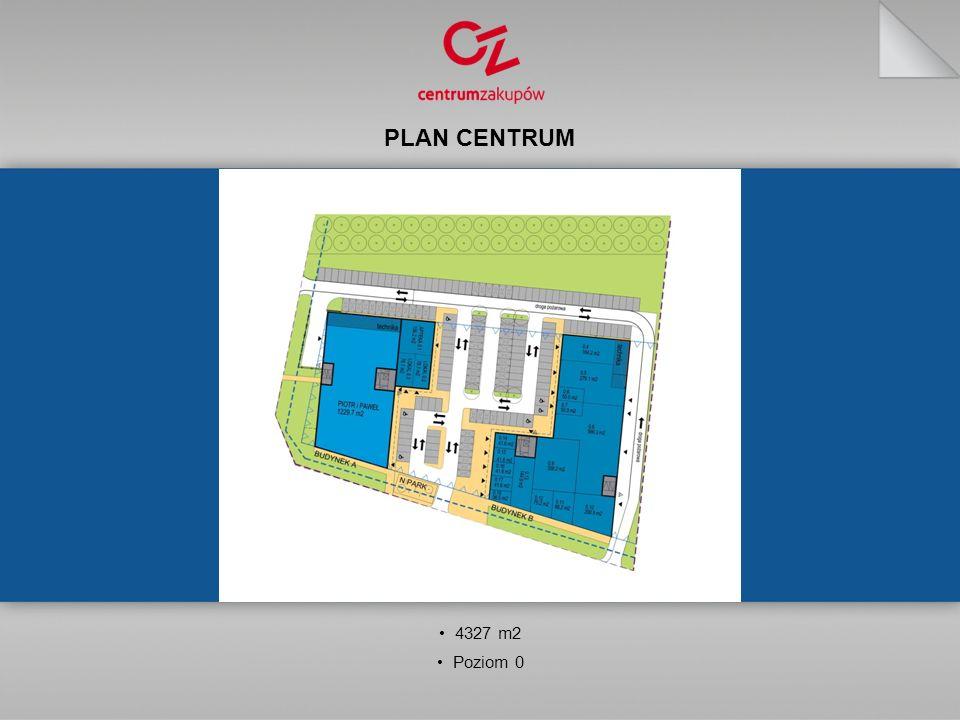 PLAN CENTRUM 4327 m2 Poziom 0
