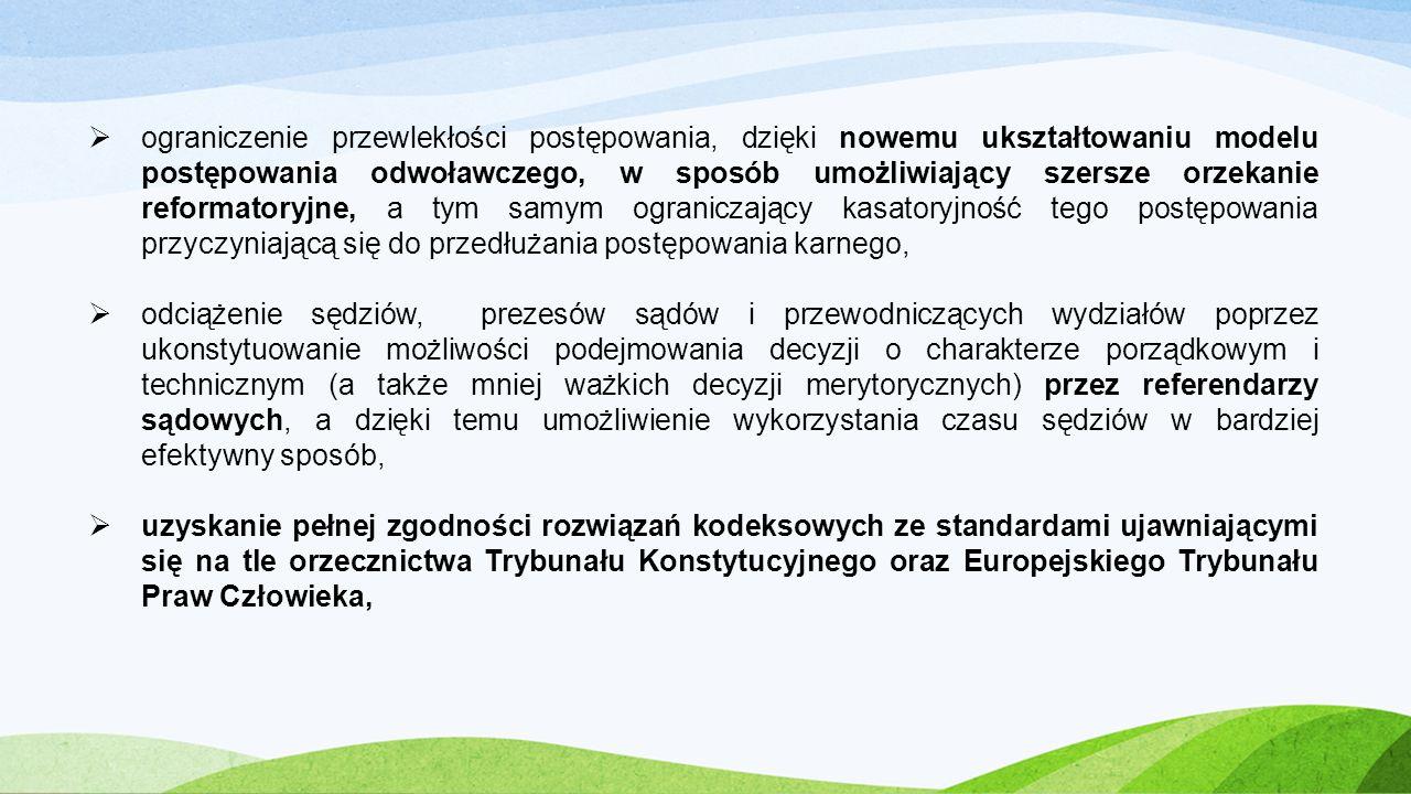 model kontradyktoryjny Ustawa z dnia 27 września 2013 r., wprowadzająca model kontradyktoryjny zacznie obowiązywać od 1 lipca 2015 r.