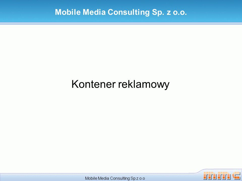 Gry z kontenerem reklamowym Przykładowy modele oferowania gier z kontenerem reklamowym Mobile Media Consulting Sp z o.o