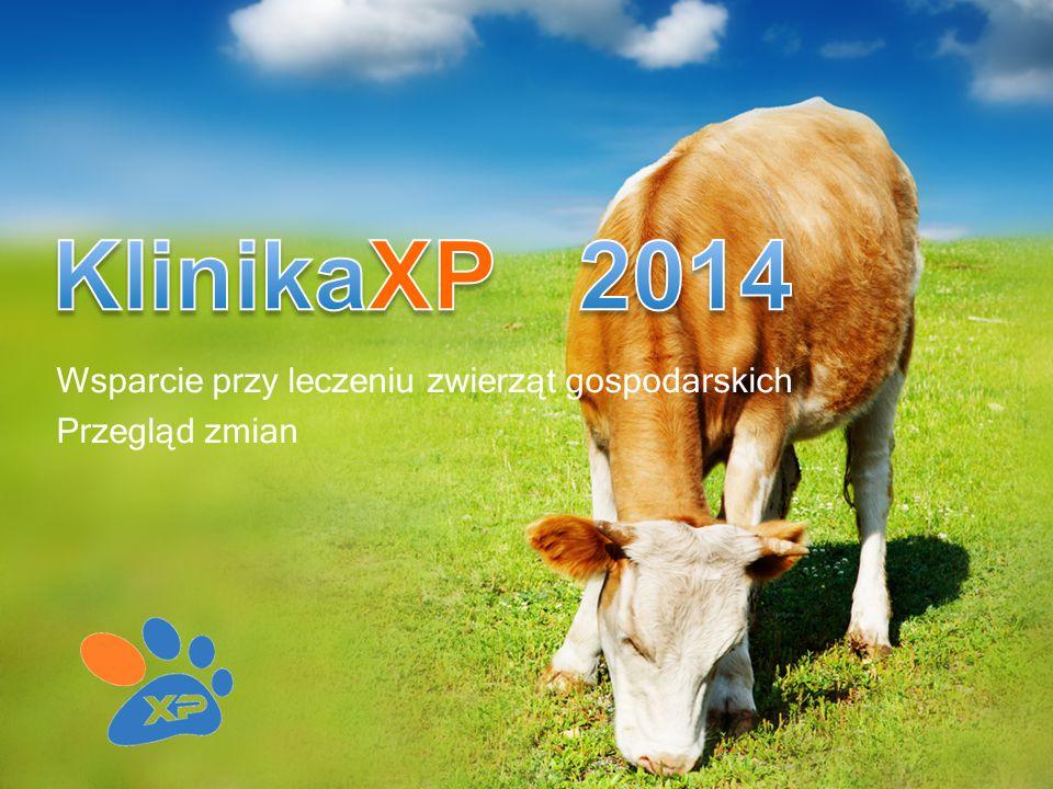 Wsparcie przy leczeniu zwierząt gospodarskich Przegląd zmian
