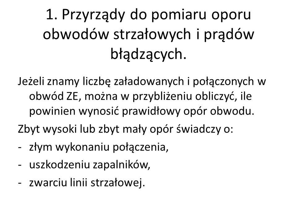 3.Przewody strzałowe elektryczne.