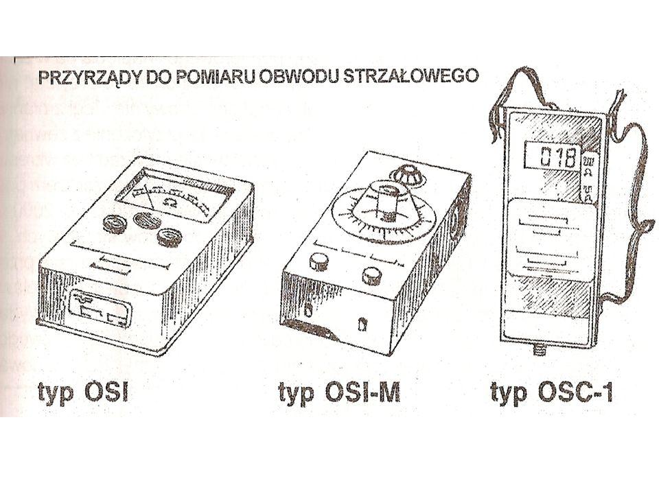 OMOMIERZ OSH-1 Przeznaczony do pomiaru rezystancji linii strzałowych oraz pojedynczych ZE.