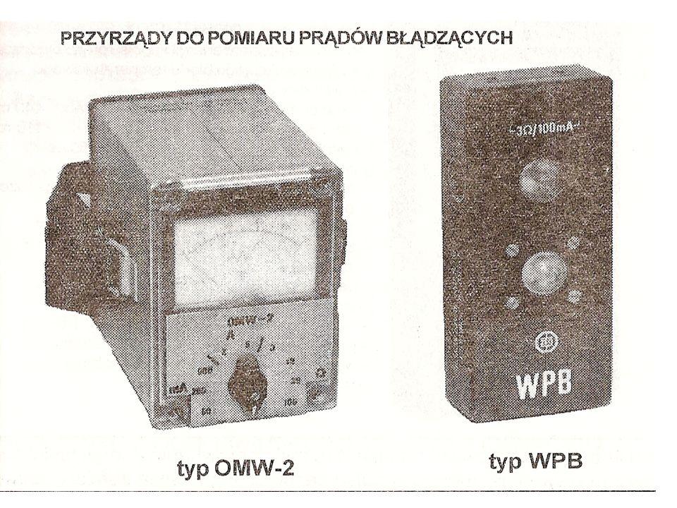 AMPEROMIERZ PRĄDÓW BŁĄDZĄCYCH APB-1 Służy do pomiarów natężenia prądów błądzących stałych i przemiennych w miejscach prowadzenia robót strzałowych i składowania środków strzałowych.