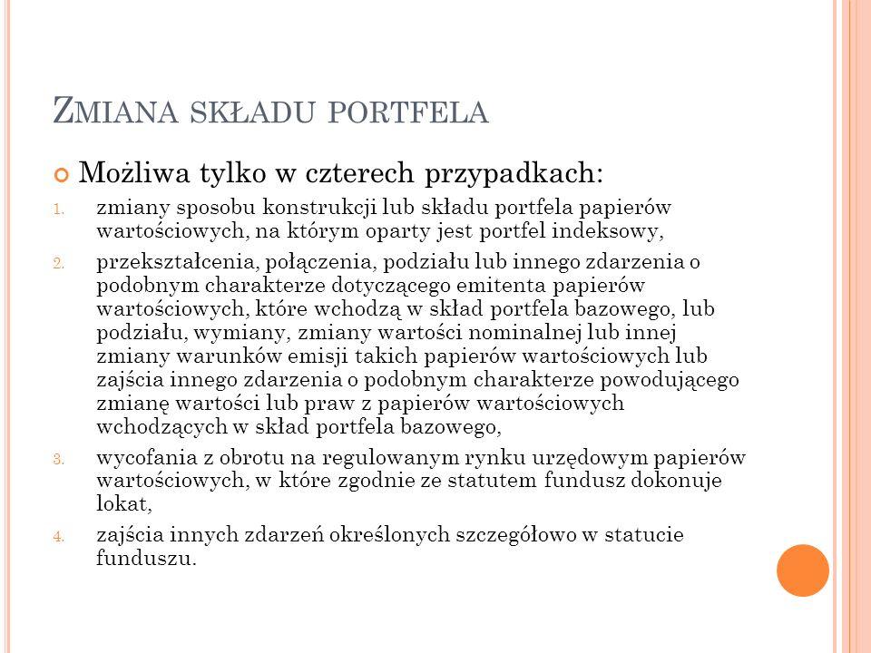 STOPY ZWROTU PORTFELI ZARZĄDZANYCH PRZEZ TFI SKARBIEC Źródło: [http://www.skarbiec.pl/repository/dokumenty/skarbiec- excellence/20130930_stopy_zwrotu_z_portfeli.pdf]http://www.skarbiec.pl/repository/dokumenty/skarbiec- excellence/20130930_stopy_zwrotu_z_portfeli.pdf