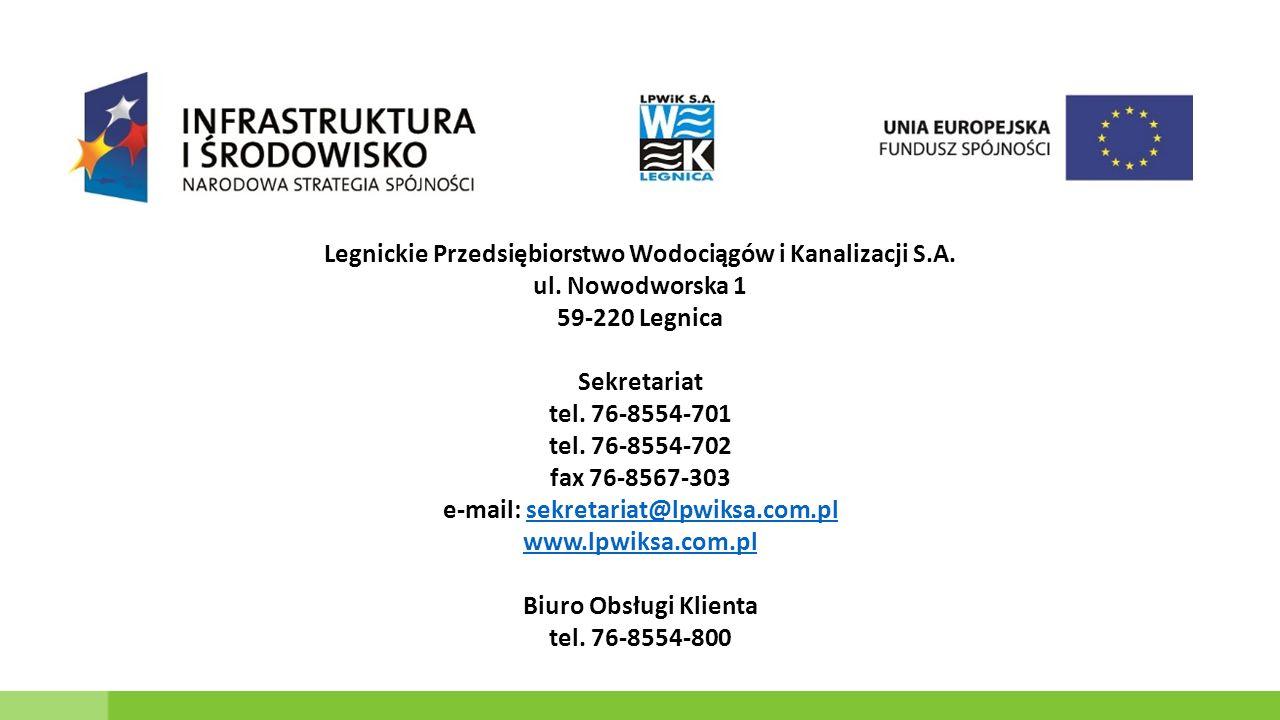 Legnickie Przedsiębiorstwo Wodociągów i Kanalizacji S.A.