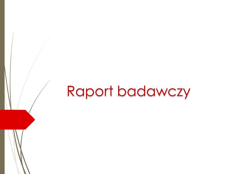 Raport badawczy
