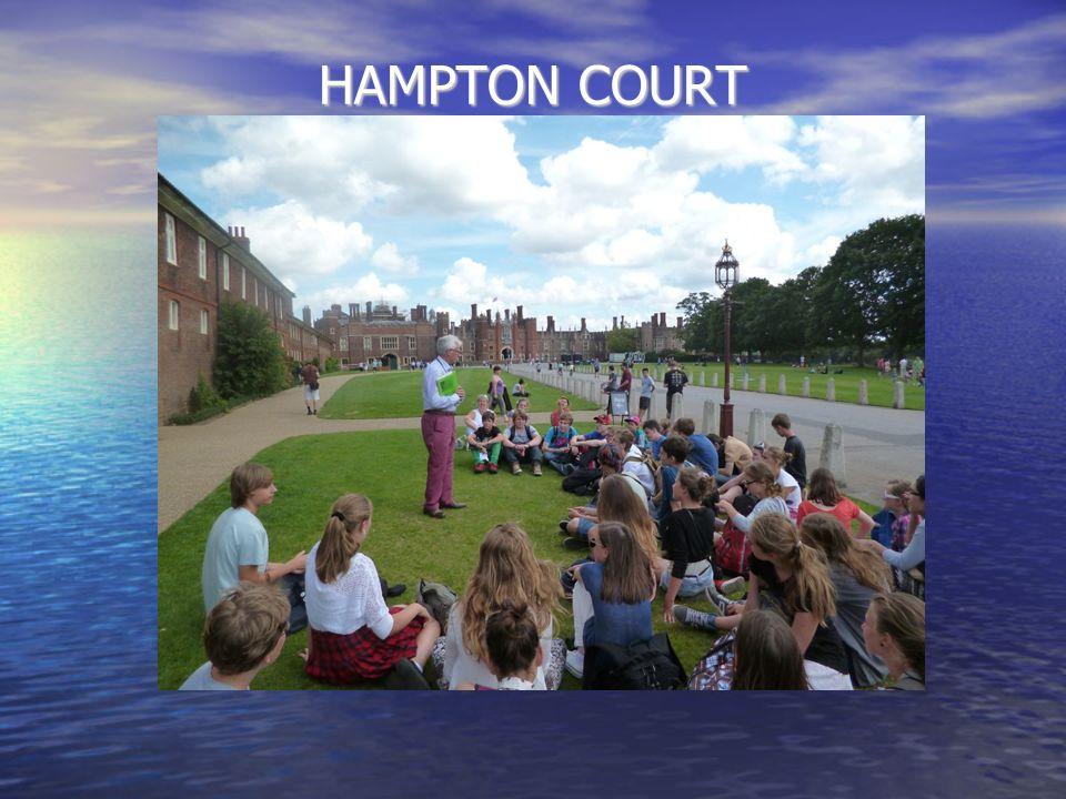HAMPTON COURT rezydencja królewska