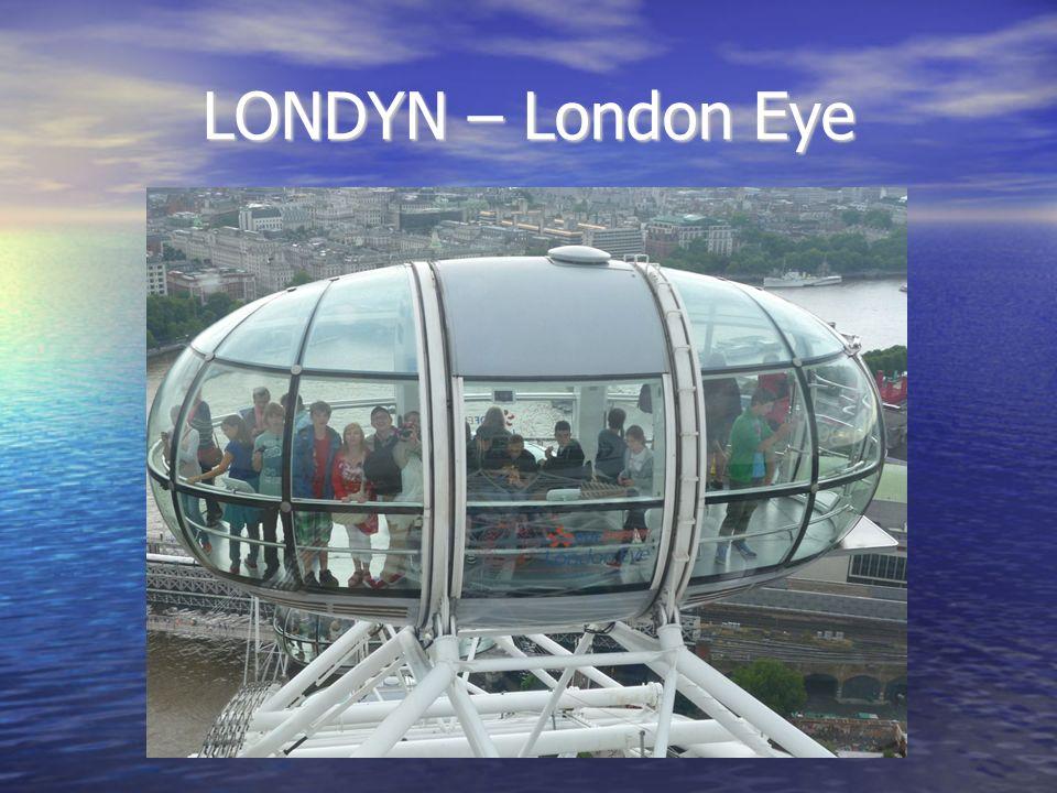 LONDYN – London Eye
