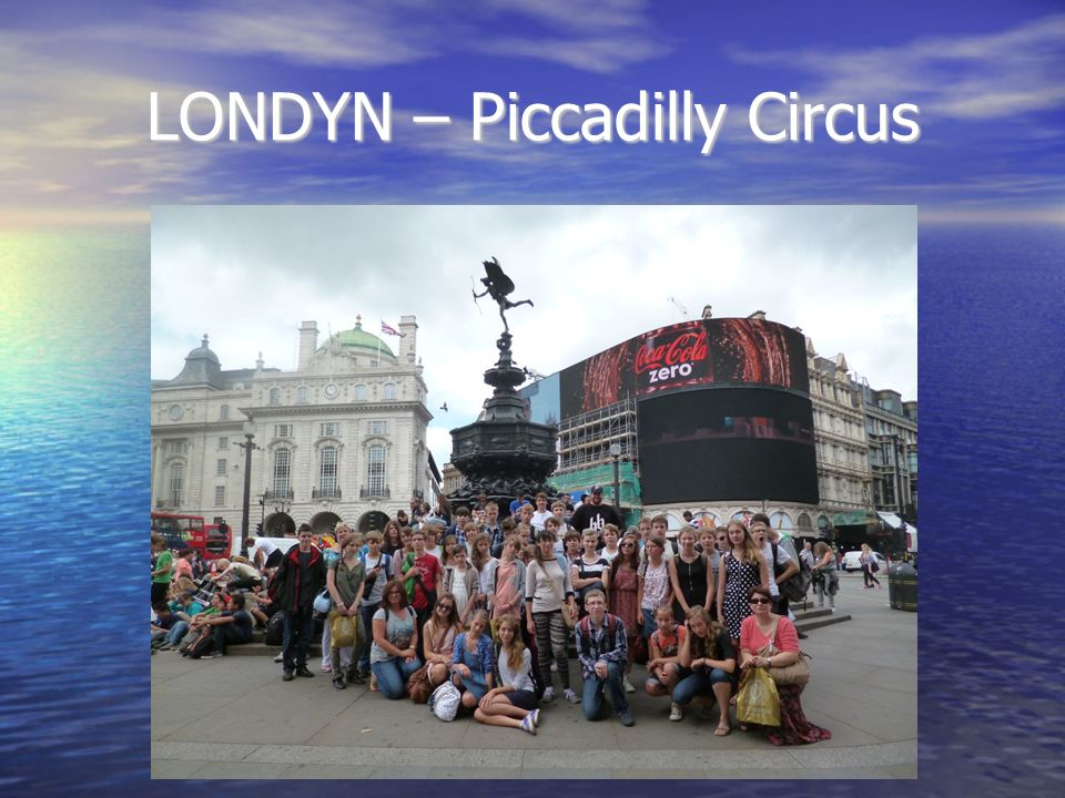 LONDYN – Piccadilly Circus