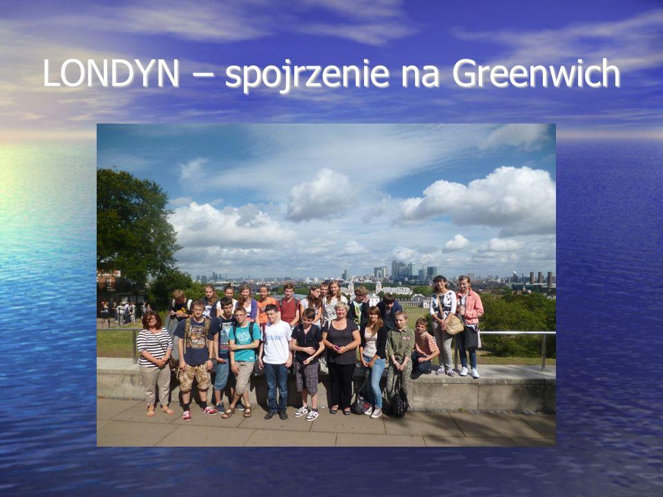 LONDYN – spojrzenie na Greenwich