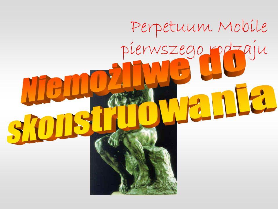 Perpetuum Mobile pierwszego rodzaju