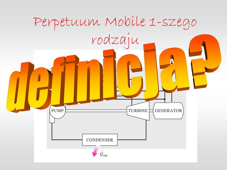 Perpetuum Mobile 1-szego rodzaju